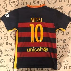 51bb72a5e726 Nike Shirts   Tops - Nike FC Barcelona 15 16 Lionel Messi home kit